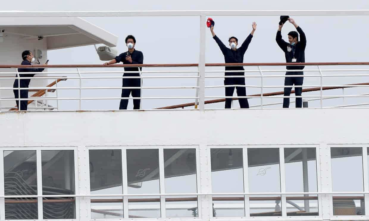 No end in sight: 100,000 crew on cruise ships stranded at ...